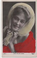 POSTCARD  ACTRESSES  PAULINE CHASE