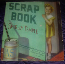 SHIRLEY TEMPLE SCRAP BOOK SCRAPBOOK  #1714  1935  SAALFIELD  AUTHORIZED EDITION