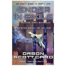 The Ender Quintet #2: Ender in Exile (Ender's Game) Orson Scott Card (2013, PB)