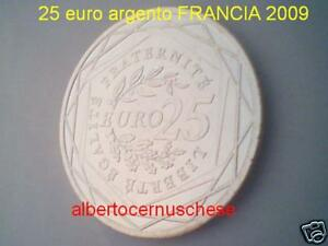 25 euro 2009 argento FRANCIA Semeuse france frankreich