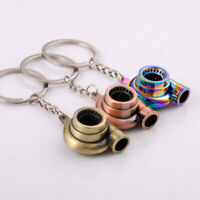 Creative Turbo Metal Keyfob Car Keyring Keychain Key Chain Ring Gift BFG