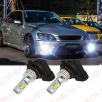 Upgrade HB4 Super White LED Front Fog Light Bulbs For Lexus Is200 1999-2001