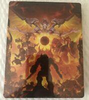 SEALED Doom Eternal Best Buy Bonus Steelbook Case (NO GAME!)