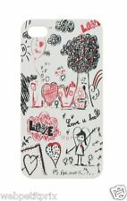 T'nB IPH48SLOVE Clip'On Love Coque + protection d'écran pour iPhone 4S