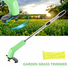 More details for electric cordless garden grass trimmer weed strimmer cutter tool removable set
