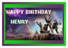 Birthday card,  16th 18th 21st 30th 40th 50th 60th 70th 80th fortnite2
