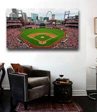 Busch Stadium St. Louis Cardinals Stadium  Canvas Print Huge 36 x 20 Cardinals