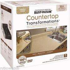 Rust-Oleum Desert Sand Countertop Transformations Coating Kit Covers 50-SQFT