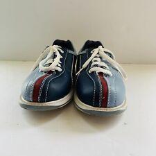 Dexter Slide-Rite Men's Size 8M Red Blue Retro Bowling Shoes