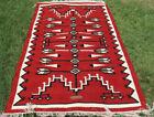 Hand Woven Navajo Wool Rug Turkish Kilim Dhurrie Afghan Southwest Area Rug 4X6
