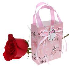 12 stk . Papiertüten Geschenktaschen Packung für Mädchen Jungen Baby Taufe,