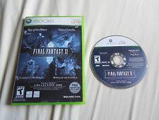 Final Fantasy XI Vana'diel Collection 2008 (XBox 360) NO MANUAL