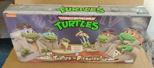 NECA TMNT Turtles In Disguise Figure 4 Pack Set Target Exclusive sealed