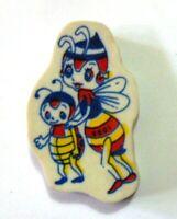 RARA GOMMINA APE MAGA' VINTAGE ANNI '80 eraser gomma rubber radiergummi (cm3x5).