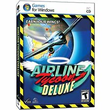 Airline Tycoon Deluxe PC Games Windows 10 8 7 XP Computer air line business sim