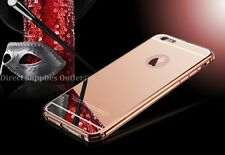 Luxury Aluminum Ultra-thin Mirror Metal Case Cover for iPhone 5/5s/6/6s/6+/6s+/7