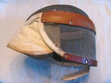 Vintage Santelli Fencing Wire Mesh Mask. Halloween.