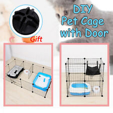 2/4/6/8/10pcs Dog Fence Cage DIY Pet Indoor Combination Assembly Steel