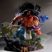 One Piece GK Kaido PVC Action Figure Statue 24cm Model Toy New In Box Present