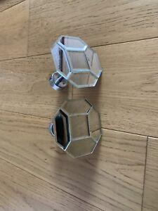 Mirrored Tie Backs