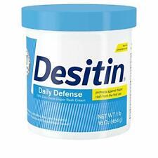 Desitin Daily Defense Baby Diaper Rash Cream with Zinc Oxide to Treat, Relieve &