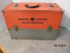 GE Tube Repairman Caddy Case with over 120 tubes & book