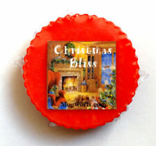 Christmas Bliss Wax Tart Melt for use in oil burner highly scented, yule Holiday