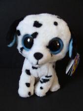 """NWT TY Beanie Boos 6"""" FETCH Dalmation Dog Boo Two Blue Tags Error Oddity NEW"""