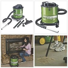 Ash Vacuum Fireplace Vac Cleans Warm Cool Wood Ashes Pellet Stove 3-Gal Canister
