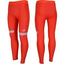 Entrenamiento Adidas Tf Chill para hombre Pantalones Leggings Pantalones de compresión que ejecuta Red