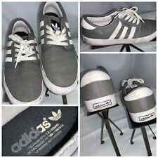 Adidas Seeley Skateboarding Shoes Sz 8.5 Men Tan Canvas Lace Mint YGI G0S-130