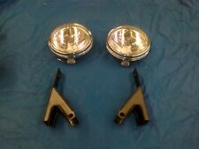 FORD XY GT DRIVING LIGHTS WITH BRACKETS NEW