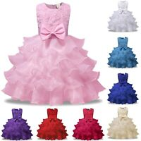 Vestito Damigella Cerimonia Abito Bambina Girl Party Bridesmaid Dress CDR086