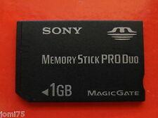 SOY M Memory STICK PRO DUO MagicGate 1.0 GB Carte Memoire Vintage DSC