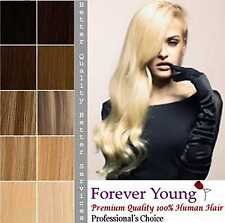 Full Head Weave Real Remy Hair Extensions Thick Doubt Weft Hair Forever Young UK