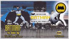 NEW Batman The Golden Age Bat Signal Digital Color Postmark FDC
