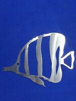Blue Tang Metal Wall Art 12 x 9 Skilwerx Nautical Ocean Beach House Decor Marine