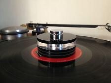 PLATO giratorio de peso de 265 gramos/Estabilizador De Discos De Vinilo-W-265G por análogo de Londres