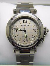 Montre CARTIER PASHA 35MM  avec bracelet acier réf 2324 unisexe