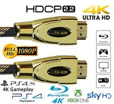 Premium Quality HDMI Cable v2.0 1M-20M High Speed 4K 1080p UltraHD 3D Lead HDCP