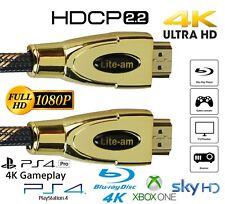 High Quality HDMI Cable v2.0 1M-20M HDCP 2.2 High Speed 4K 1080p UltraHD 3D Lead