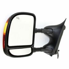 New Driver/Left Side Power Heated Towing Mirror for Ford F-250 Super Duty 03-07