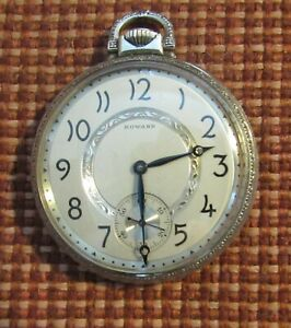 E. Howard Pocket Watch, Grade: Series 7, Date of manufacture 1921