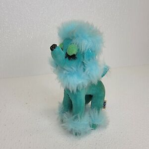 "Rare Vintage ORIGINAL Dakin Dream Pets 6"" Blue Poodle Snobby Fuzzy Plush"