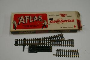 Vintage Atlas HO Left 50 Remote Snap Switch Train Track Brass Rare New Old Stock