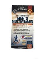 Bio Schwartz Multivitamin Men's 50+ Advanced Formula 60 Veg exp 07/21 Free Ship!