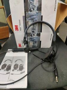 3M Peltor LiteCom Headset Headband mt32h01 lightweight single sided Racing rally