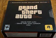 Video Game PC GRAND THEFT AUTO & LONDON & GTA 2 Classics Collectors Edition 3CDs