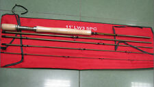 Special Sale! Aventik IM12 3wt 11ft 5SEC Medflex Action Nymph Fly Rod 135g NEW