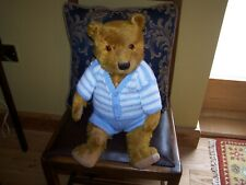 SUPER LARGE 1930S CHILTERN TEDDY BEAR, UNUSUAL COLOUR, LOVELY CONDITION.
